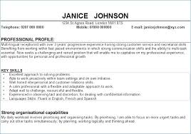 personal resume exles resume personal profile statement exles artemushka