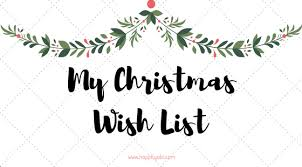wish list my christmas wish list png w 636