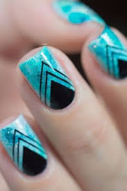 15 easy stripe nails for beginners easy nail art designs and