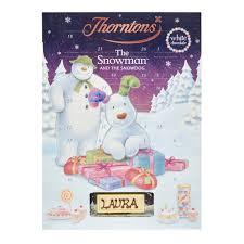 white chocolate snowman advent calendar christmas collection