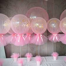 tulle decorations tulle wrapped balloons decoration ideas for trends4us