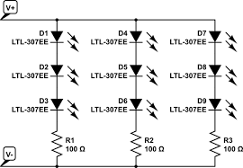 resistors calculating resistance for led strips to use as