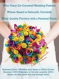 wedding flowers in cornwall business spotlight tracy q s cornwall wedding flowers