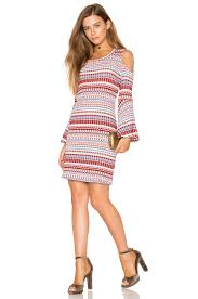 ella moss nomadic rib dress in blush revolve