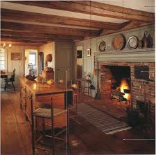 i like the paneling alongside the fireplace painted the same color