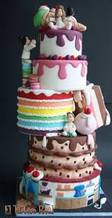 my 21st birthday cake already planned everything rainbow