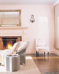 Pink Living Room by Skylands Guesthouse Martha Stewart