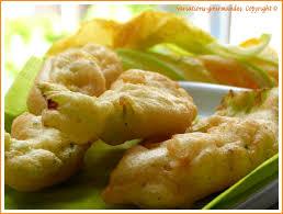 cuisiner fleurs de courgettes variations gourmandes beignets de fleurs de courgettes de