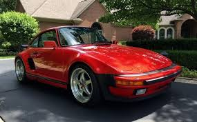 1987 porsche 911 slant nose 1987 porsche 911 turbo coupe factory slant nose 37 594