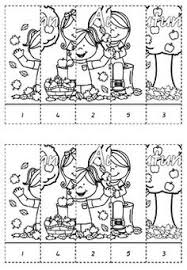 christmas number line puzzles number lines cut and paste and