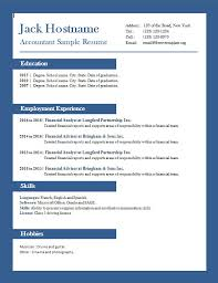 Example Of Accountant Resume by Accounting Resume Example U2013 Freecvtemplate Org