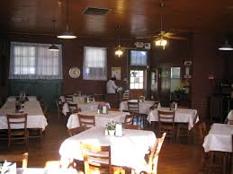 Main Dining Room by The Harvey House Cafe Frisco Depot Museum Hugo Oklahoma
