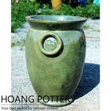 tall round glazed ceramic pots archives hoang pottery your