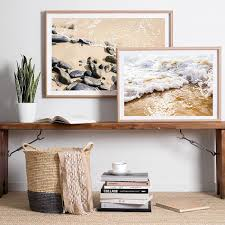home interior prints beach rocks ii photo print u2013 clair estelle
