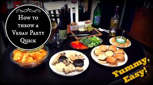 easy vegan party finger foods appetizers hors d u0027oeuvres youtube