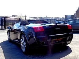 lamborghini gallardo doors used lamborghini gallardo spyder e gear with extras gullwing