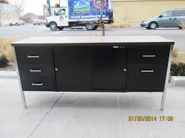 office credenza file cabinet vintage metal office credenza
