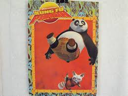amazon kung fu panda coloring u0026 activity book cover art