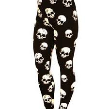 Plus Size Skeleton Leggings Plus Size Skull Leggings The Else