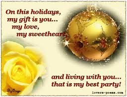 christmas love messages 1 christmas poems she walks in