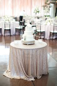 Fine Table Linens by Elegant Garden Inspired Wedding In St Louis Cake Table Fine