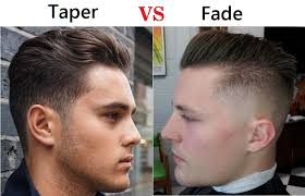 how to do a fade haircut on yourself taper vs fade haircut choose the best hairstyle for you