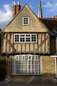 tudor style cottage old english tudor style town house stock photo picture and