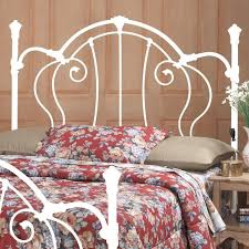 White Metal Headboard 28 Unique Metal Headboards That Are Worth Investing In Shelterness