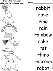 letter r alphabet activities at enchantedlearning com