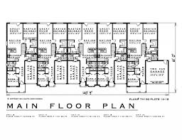 100 townhouse blueprints 5 bedroom aparment floor plans