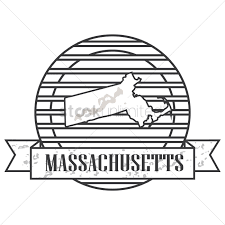 Massachusetts State Map by Massachusetts State Map Vector Image 1571531 Stockunlimited