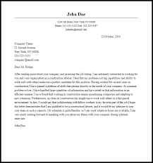 elegant construction cover letter examples 95 for cover letter