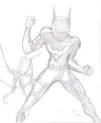 batman fight pose hybridcomics deviantart