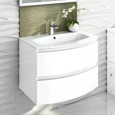 Cloakroom Furniture Vanity Units White Sink Vanity Unit Camberley White 600 Door Unit Basin Http