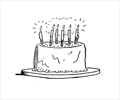 9 birthday coloring pages jpg ai illustrator download
