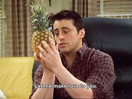 Joey Friends Meme - joey middle of no world
