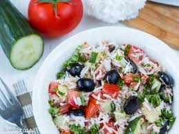 cuisine salade de riz salade de riz au thon facile et rapide la cuisine d adeline