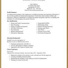 Sample Resume Work Experience Format by Resume Templates For High Students With No Work Experience