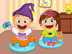 twin sister dress up games for girls