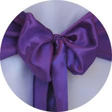 chair sash rental chair sash rental satin sash purple chair cover rentals
