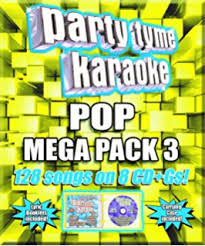 Party Tyme Karaoke Christmas Pack - party tyme karaoke party tyme karaoke pop mega pack 128 song