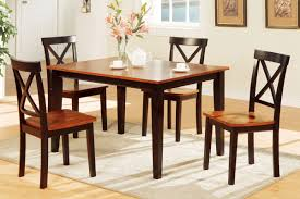 5 piece two tone dining set includes chairs huntington beach