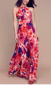 eliza j other eliza j floral halter maxi size 12 of the