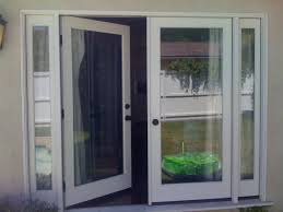 Sliding French Patio Doors With Screens Home Design French Doors Patio With Screen Craftsman Large