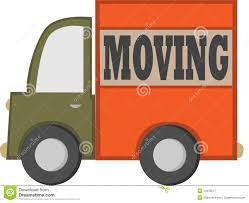 cartoon moving truck royalty free stock photography image 12978217