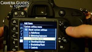 how to set self timer on a nikon d600 youtube