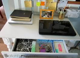 How To Organize A Small Desk restoration beauty how to organize a small office work space