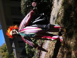 evil clown circus halloween yard