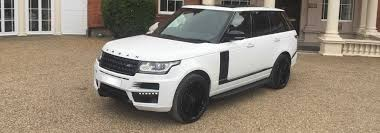 land rover autobiography white range rover vogue autobiography hire from herts limos style