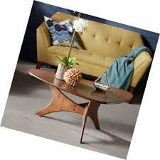 ink ivy blaze brown triangle wood side table olliix ink ivy crackle side table iif17 0145 ebay